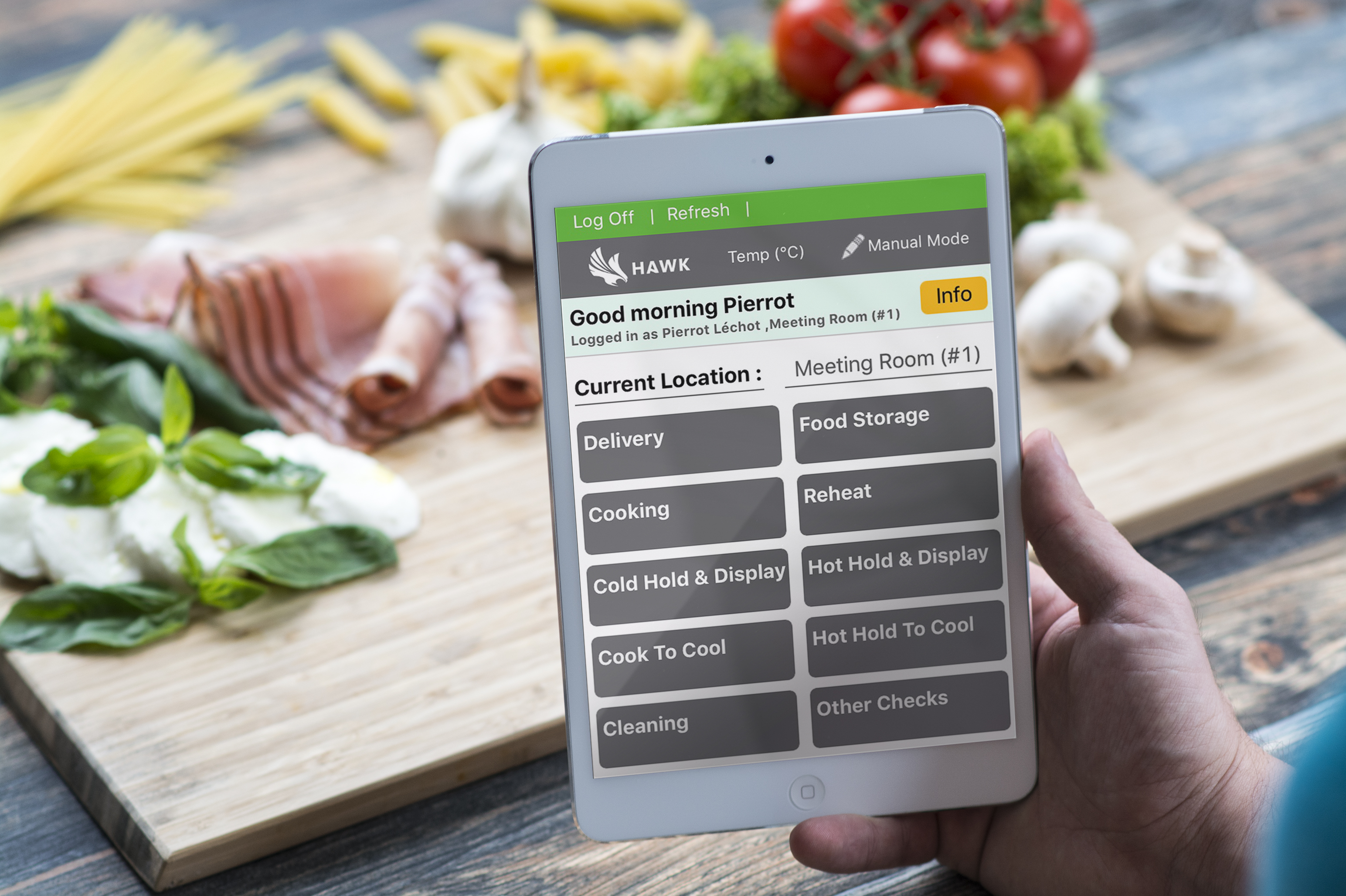Paperless HACCP Record Keeping